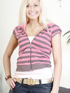 Порно фото анала с длинноволосой блондинкой, порно